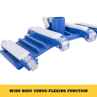Flexible Vacuum Head Pool Spa Vac Wheels Flexible Frame Heavy Duty