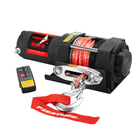 Fieryred Wireless 4500Lbs/2041Kg 12V Electric Winch Synthetic Rope Boat Atv 4Wd