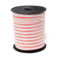 Electric Fence Stainless Steel Wire Poly Tape Roll - 200M