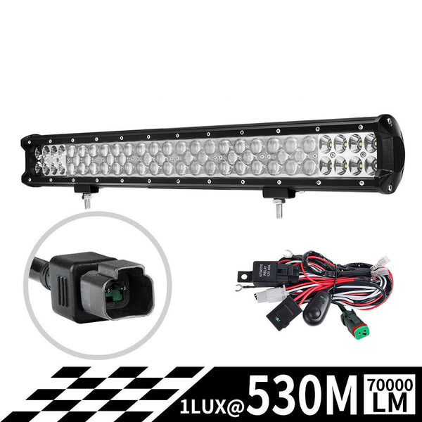 23Inch Led Light Bar Osram Spot Flood Combo Offroad 4Wd