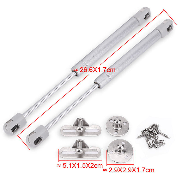 2 Pack Hydraulic Door Hinge Gas Spring Strut Prop Shock Lift Kitchen Cabinet
