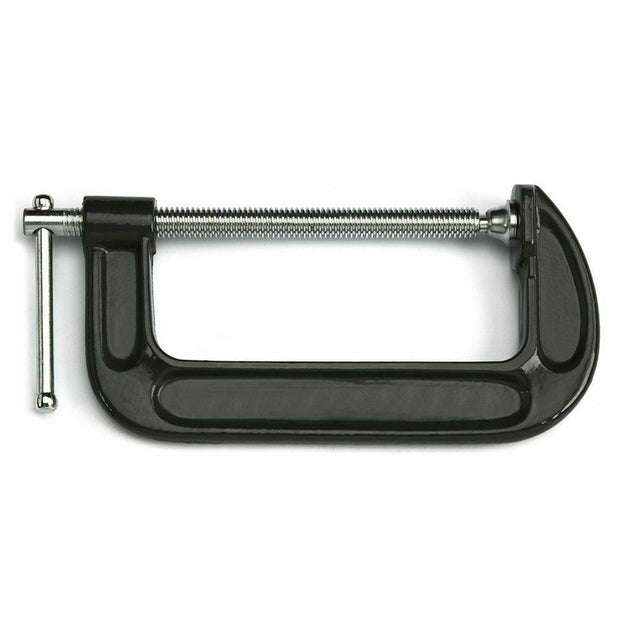 2 3 4 5 6 Inch G Clamp, Iron Body & Plated Steel Screw