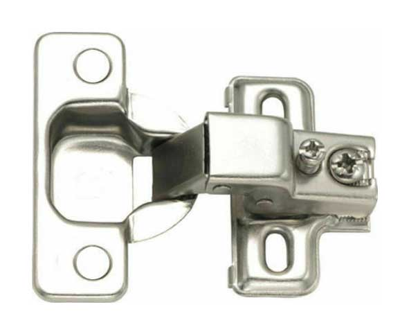 "Face Frame Concealed Cabinet Hinges Self Closing 115 deg 3/8-5/8"" Overlay [Value Pack]"