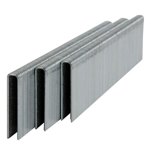 "5000 Pcs L Staples Galvanized Steel 18 gauge 1/4"" crown"