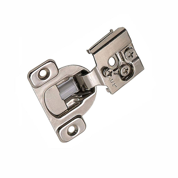 1/2'' Overlay Soft Close Compact Concealed Hinges With Cam Adjustments [Value Pack]