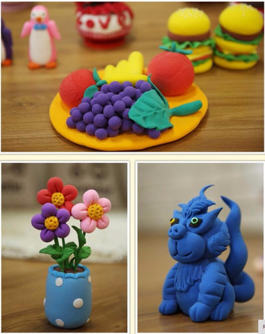 24 Colors DIY Soft Polymer Light Clay Play Doh Sets