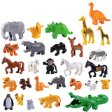 Zoo Big Building Blocks Animal Educational Toys For Children