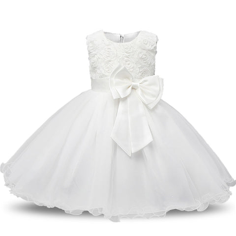 Elegant Princess Style Little Girl Party Dress