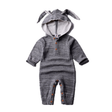 Knitted Luxury Baby Romper - Rabbit