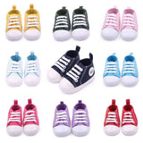 Baby Canvas Soft Sole Pre Walker Shoes