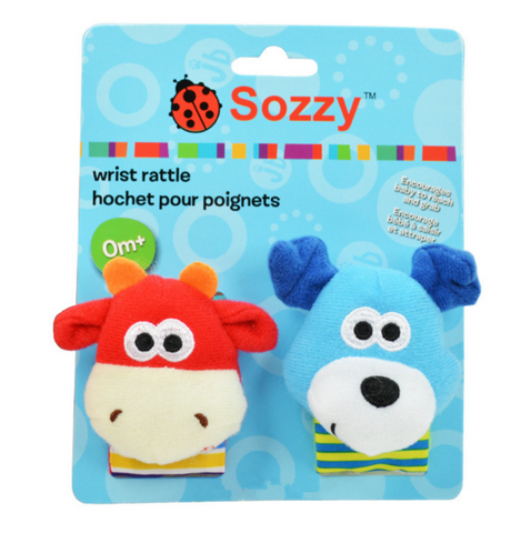 Baby Rattles & Mobiles Soft Baby Toy - Set B