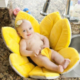 Baby Flower Bath Cushion -  Anti-slip Sponge for sink