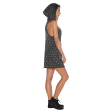 Load image into Gallery viewer, Geometric Hooded Tank Dress #3