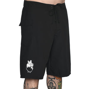 Black Board Shorts #1