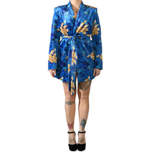 Load image into Gallery viewer, Oriental Velvet Blazer #4