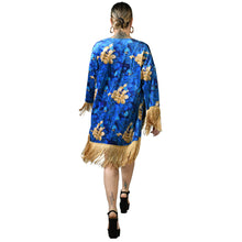 Load image into Gallery viewer, Oriental Velvet Kimono #4
