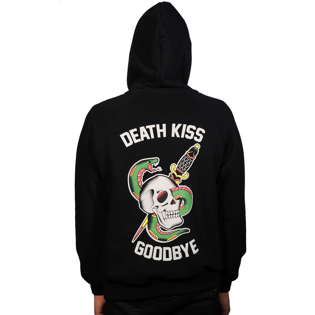 Death Kiss Goodbye Zip-Up Hoody