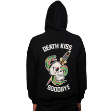 Load image into Gallery viewer, Death Kiss Goodbye Zip-Up Hoody