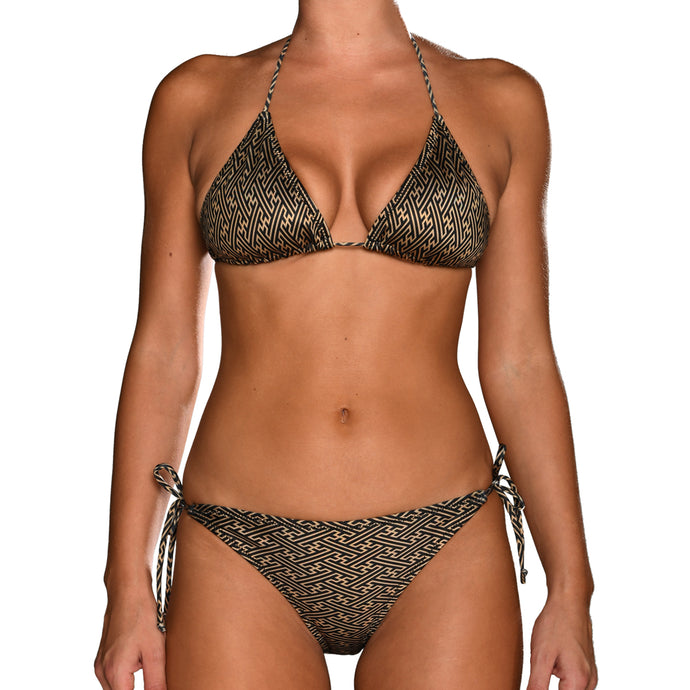 The Geometry Series #8 Tie Side Bikini