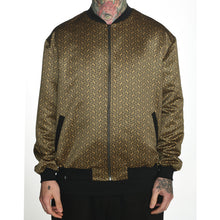 Load image into Gallery viewer, Geometric Satin Bomber Jacket #8