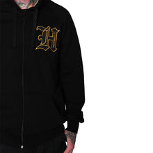 Load image into Gallery viewer, HeartbeatInk Monogram Zip-Up Hoodie