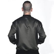 Load image into Gallery viewer, Geometric Satin Bomber Jacket #18