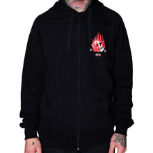 Load image into Gallery viewer, Let the Light Inside You Shine Zip-Up Hoodie