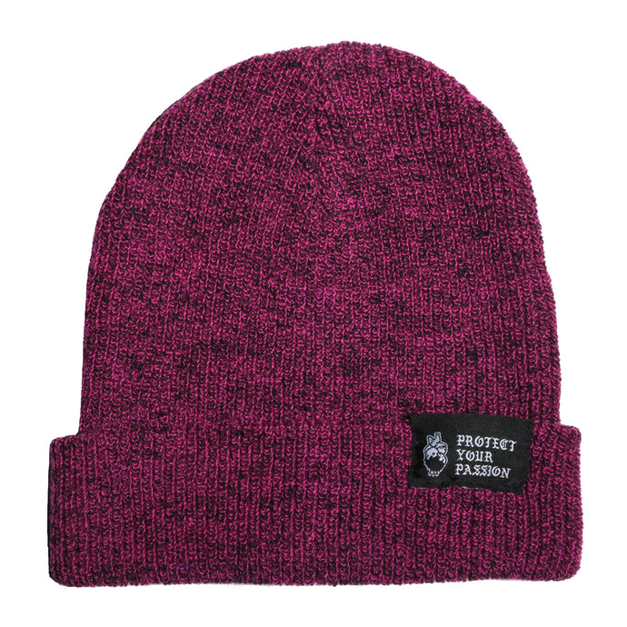 HeartbeatInk Protect Your Passion Magenta Beanie