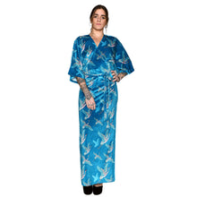 Load image into Gallery viewer, Japanese Velvet Maxi Wrap Dress #2