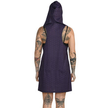 Load image into Gallery viewer, Geometric Hooded Tank Dress #14