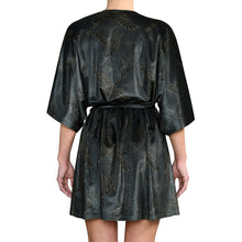 Load image into Gallery viewer, Japanese Velvet Mini Wrap Dress #9