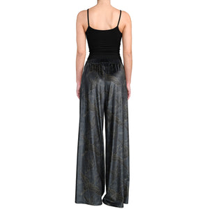 Japanese Velvet Wide Leg Pants #9