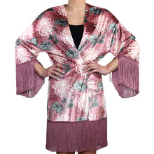 Load image into Gallery viewer, Oriental Velvet Kimono #3