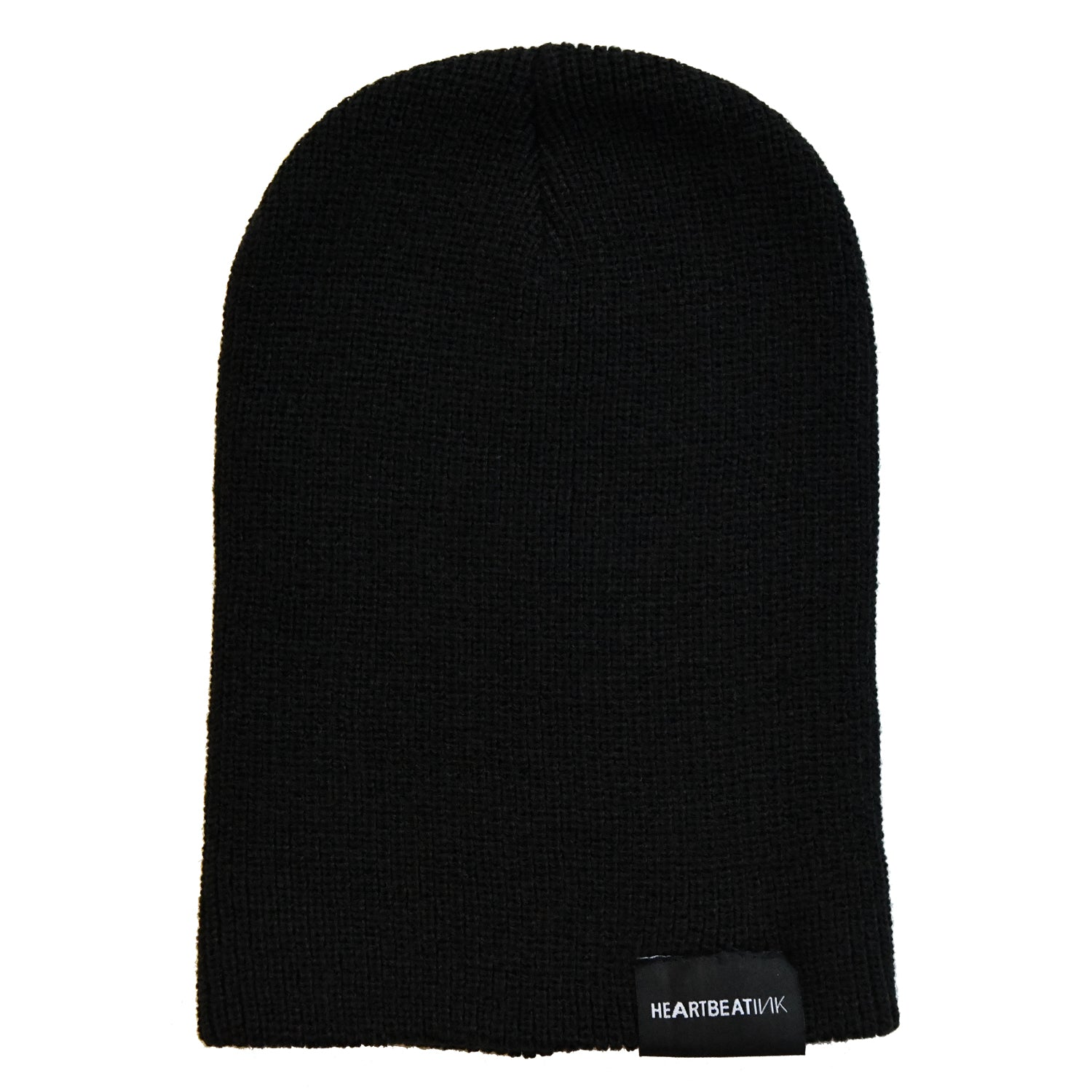 HeartbeatInk Protect Your Passion Black Beanie
