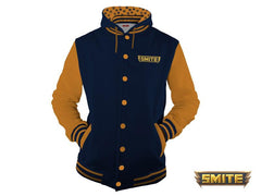 SMITE Hooded varsity jacket