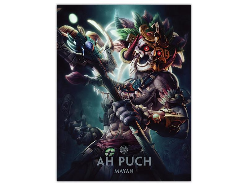 Smite Gods: Ah Puch poster