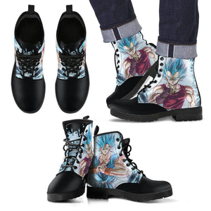 DBZ Goku Vegeta Blue Shoes