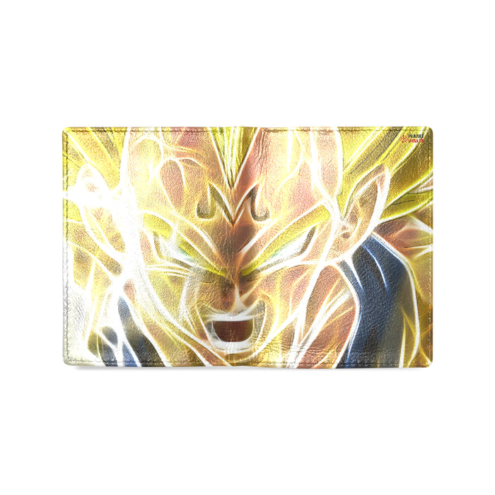 Majin Vegeta Unisex Leather Wallet