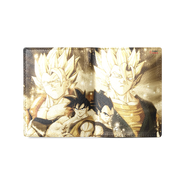 VEGITO GOGETA Unisex Leather Wallet