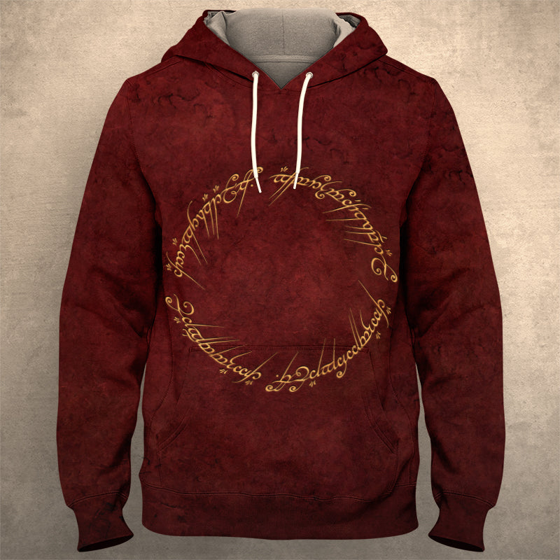 Lord Of The Ring Hoodie