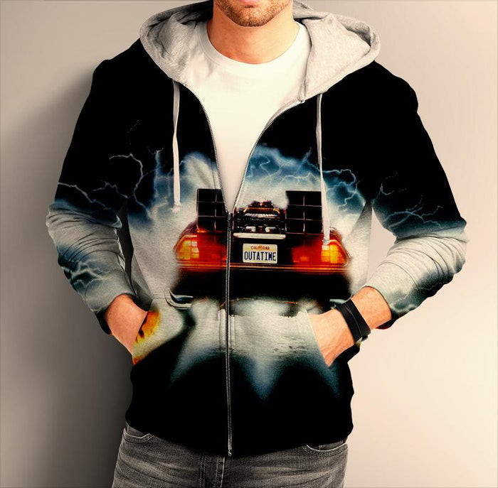 Back To The Future ZIP Hoodie 0186