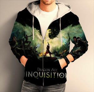 Dragon Age Inquisition  ZIP Hoodie
