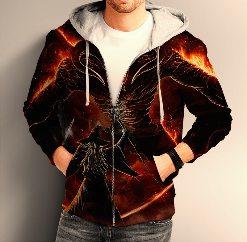 Lord Of The Ring ZIP Hoodie 0236