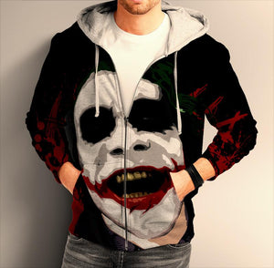 Batman dark knight ZIP Hoodie 0246