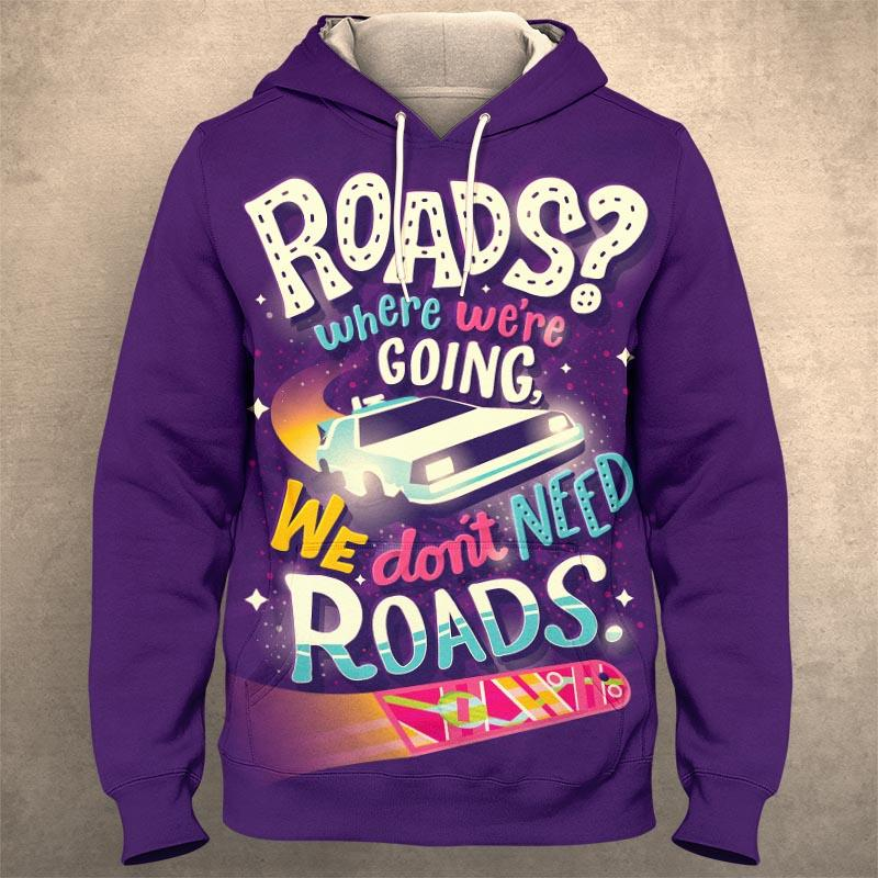 BACK TO THE FUTURE Hoodie 0748