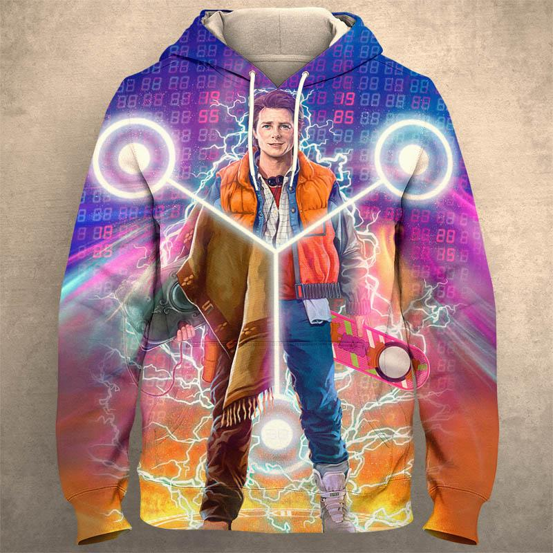 BACK TO THE FUTURE Hoodie 0749