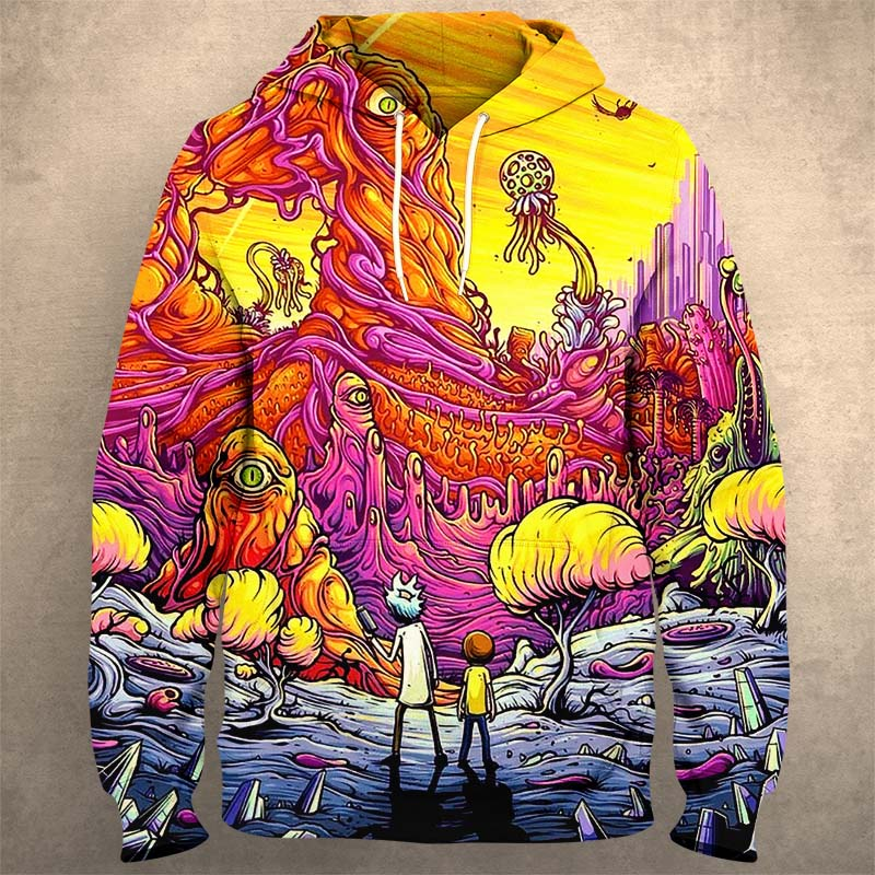 RICK AND MORTY Hoodie1196