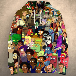 RICK AND MORTY Hoodie 1200