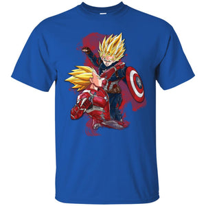 DBZ - CAPT VS IRONMAN Ultra Cotton T-Shirt