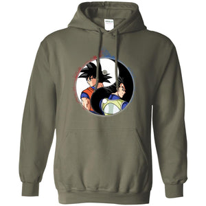 YINYANG DBZ BACK FACE Pullover Hoodie 8 oz.